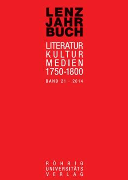 Abbildung von Roßbach / Martin | Lenz-Jahrbuch 21 (2014) | 1. Auflage | 2014 | beck-shop.de