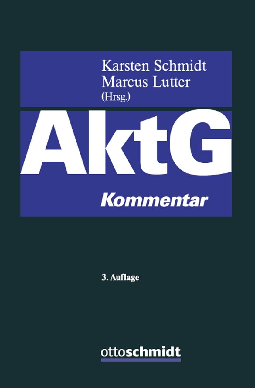 Aktiengesetz | Schmidt / Lutter (Hrsg.) | Buch (Cover)