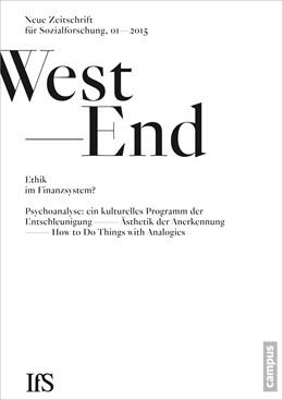 Abbildung von Institut für Sozialforschung, Frankfurt am Main | WestEnd 2015/1: Ethik im Finanzsystem? | 1. Auflage | 2015 | 22 | beck-shop.de