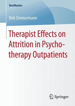 Abbildung von Zimmermann | Therapist Effects on Attrition in Psychotherapy Outpatients | 2015