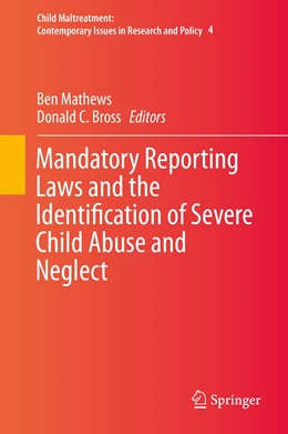 Abbildung von Mathews / Bross | Mandatory Reporting Laws and the Identification of Severe Child Abuse and Neglect | 2015 | 4