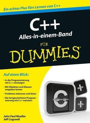 C++ Alles in einem Band für Dummies | Mueller / Cogswell, 2016 | Buch (Cover)