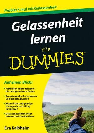 Gelassenheit lernen für Dummies   Kalbheim, 2015   Buch (Cover)