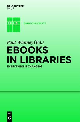 Abbildung von Whitney / Castell | Trade eBooks in Libraries | 2016 | The Changing Landscape | 172