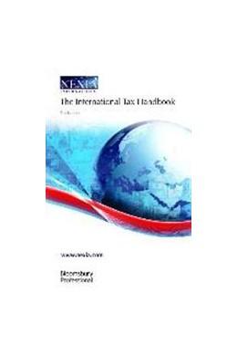 Abbildung von The International Tax Handbook | 5. Auflage | 2015 | beck-shop.de