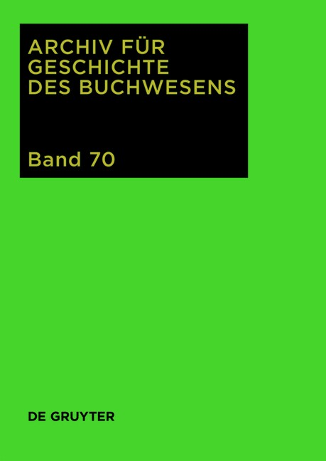 2015, 2015 | Buch (Cover)