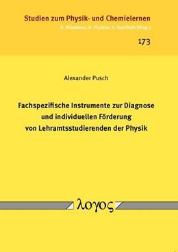 Abbildung von Pusch | Fachspezifische Instrumente zur Diagnose und individuellen Förderung von Lehramtsstudierenden der Physik | 1. Auflage | 2014 | 173 | beck-shop.de