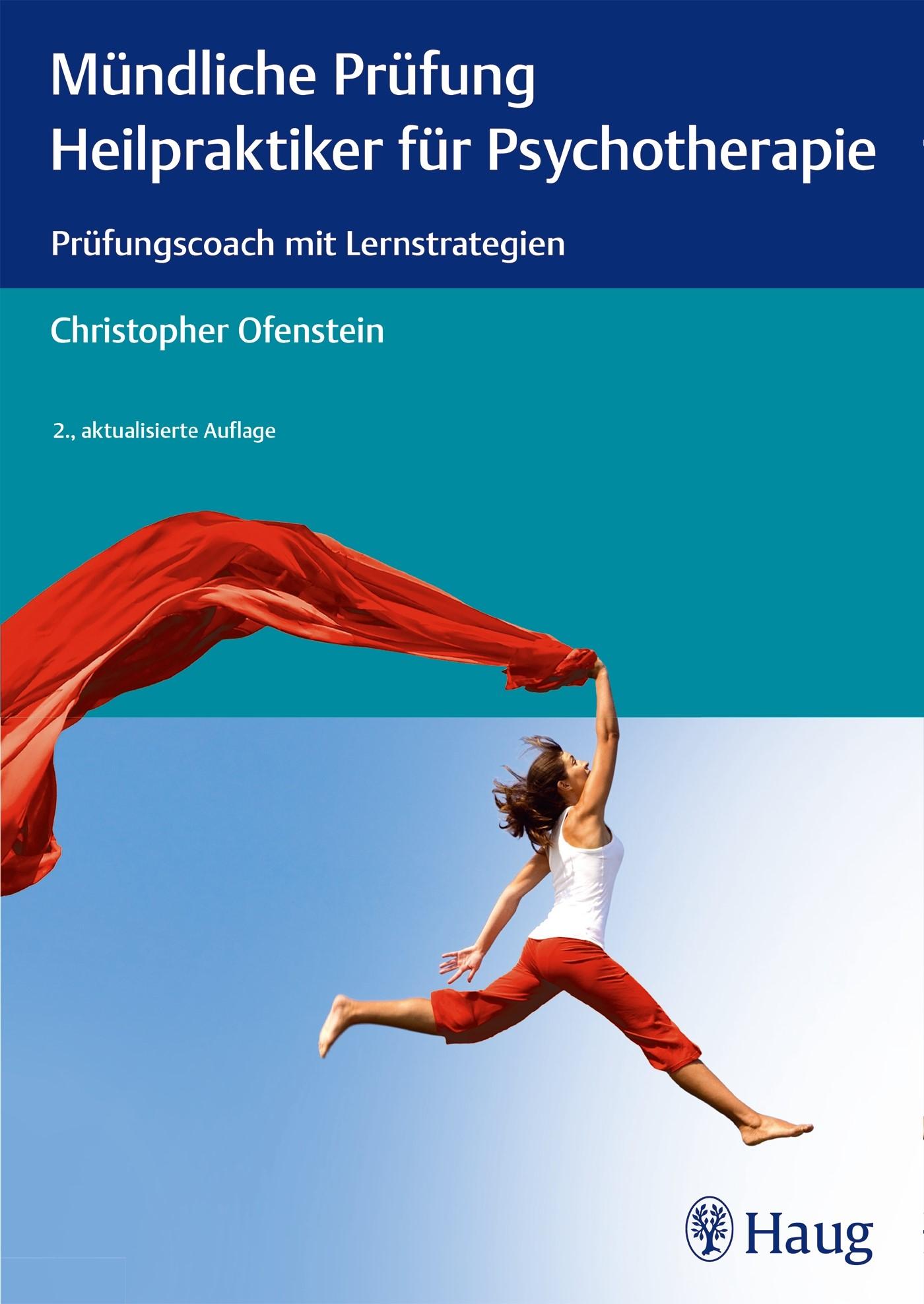 Mündliche Prüfung Heilpraktiker für Psychotherapie   Ofenstein   2., aktualisierte Auflage, 2014   Buch (Cover)