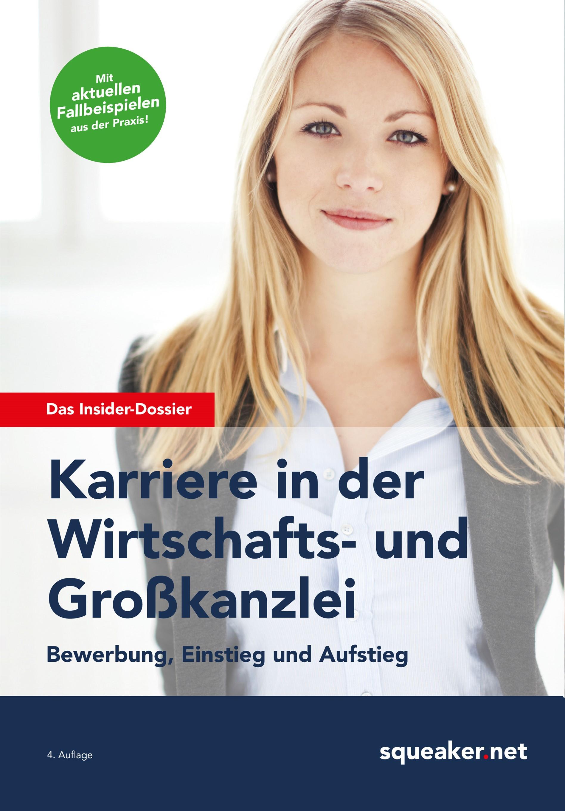 Das Insider-Dossier: Karriere in der Wirtschafts- und Großkanzlei | Menden / Seyfferth | 4. aktualisierte Auflage, 2015 | Buch (Cover)