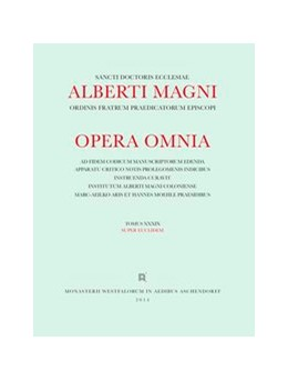Abbildung von Magnus | Albertus <Magnus>: [Opera omnia] Alberti Magni opera omnia / Opera Omnia /Super Euclidem | 1. Auflage | 2014 | beck-shop.de