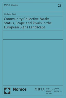 Abbildung von Dani | Community Collective Marks: Status, Scope and Rivals in the European Signs Landscape | 1. Auflage | 2014 | 23 | beck-shop.de
