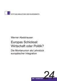 Europas Schicksal: Wirtschaft oder Politik? | Abelshauser, 2008 | Buch (Cover)