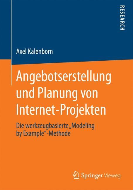 Angebotserstellung und Planung von Internet-Projekten | Kalenborn, 2014 | Buch (Cover)