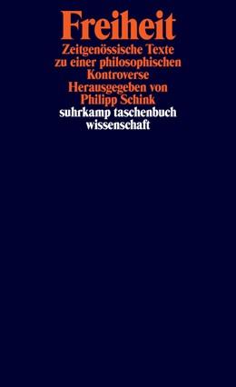 Abbildung von Schink | Freiheit | Originalausgabe | 2017 | Zeitgenössische Texte zu einer... | 2145