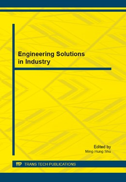 Abbildung von Shu | Engineering Solutions in Industry | 1. Auflage | 2014 | Volume 681 | beck-shop.de