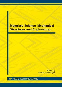 Abbildung von Husseinsyah | Materials Science, Mechanical Structures and Engineering | 1. Auflage | 2014 | Volume 680 | beck-shop.de