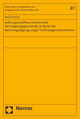 Abbildung von Kreide   Selbst geschaffene immaterielle Vermögensgegenstände im Recht der Rechnungslegung junger Technologieunternehmen   1. Auflage   2015   87   beck-shop.de