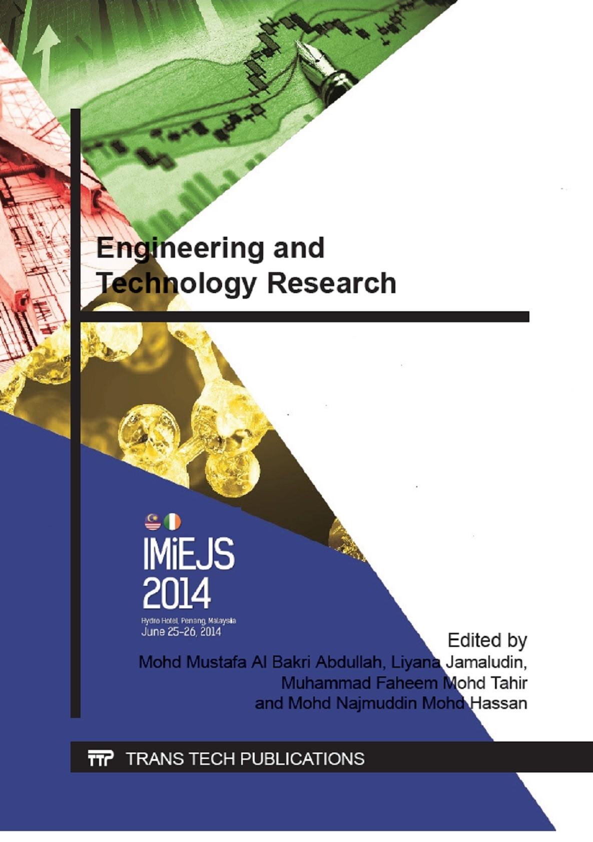 Abbildung von Abdullah | Engineering and Technology Research | 2014