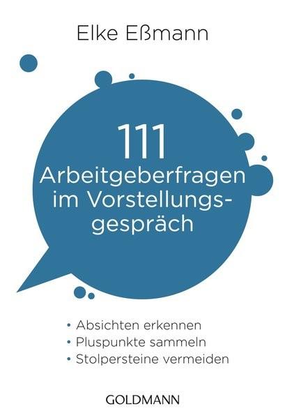 111 Arbeitgeberfragen im Vorstellungsgespräch   Eßmann, 2015   Buch (Cover)
