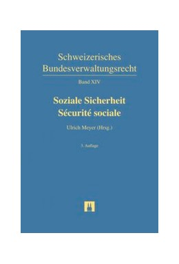 Abbildung von Meyer (Hrsg.) | Soziale Sicherheit = Sécurité sociale | 3. Auflage | 2016 | Band XIV