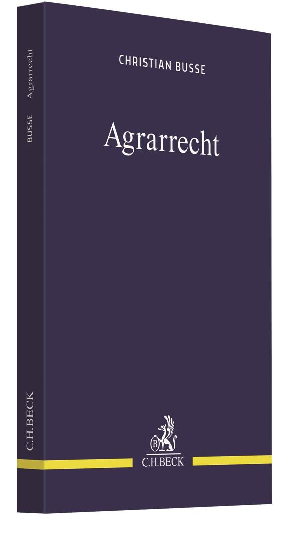Agrarrecht | Busse, 2019 | Buch (Cover)