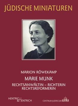 Abbildung von Röwekamp | Marie Munk | 1. Auflage | 2014 | 161 | beck-shop.de