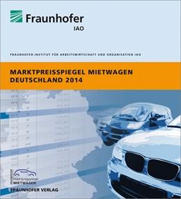 Abbildung von Marktpreisspiegel Mietwagen Deutschland 2014.   2014