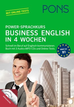 Abbildung von PONS Power-Sprachkurs Business English | 2015 | Schnell im Beruf auf Englisch ...