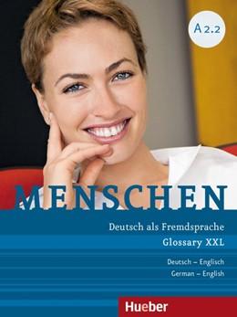 Abbildung von Ozorowska / Schwingshackl | Menschen A2/2. Glossar XXL Deutsch-Englisch | 1. Auflage | 2015 | beck-shop.de