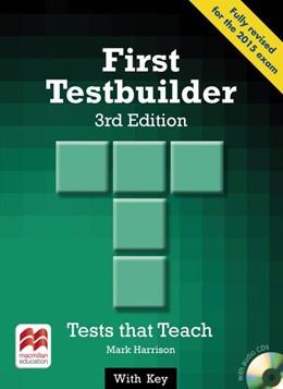 Abbildung von Harrison   First Testbuilder. Student's Book with Audio-CDs (with Key)   3. Auflage   2015   beck-shop.de