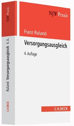 Abbildung von Ruland   Versorgungsausgleich   4. Auflage   2015   Band 28   beck-shop.de