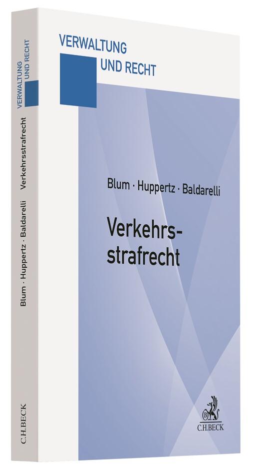 Abbildung von Blum / Huppertz / Baldarelli   Verkehrsstrafrecht   2015