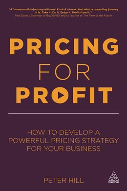 Abbildung von Hill   Pricing for Profit   2013   How to Develop a Powerful Pric...