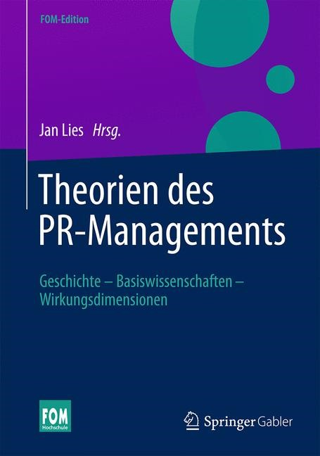 Theorien des PR-Managements   Lies   2015, 2015   Buch (Cover)