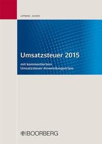 Umsatzsteuer 2015 | Lippross / Janzen, 2015 | Buch (Cover)