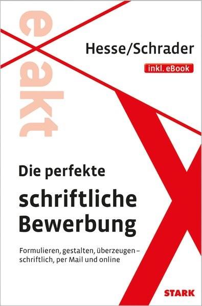 Die perfekte schriftliche Bewerbung | Hesse / Schrader, 2015 (Cover)