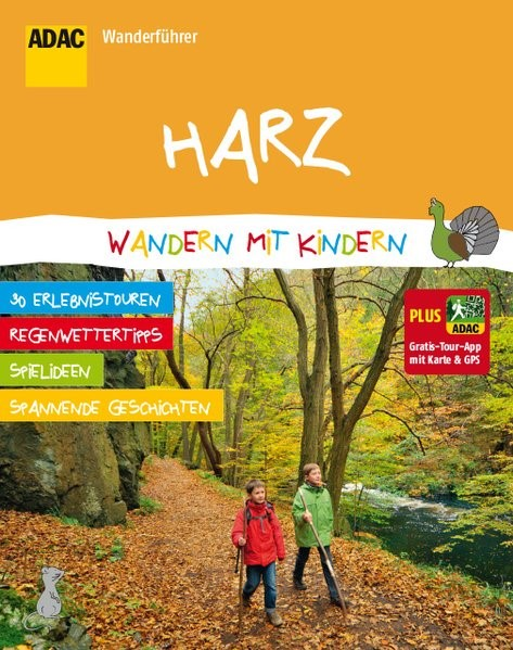Abbildung von ADAC Wanderführer Harz Wandern mit Kindern | 2015