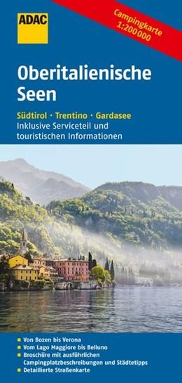 Abbildung von ADAC Campingkarte Oberitalienische Seen | 2015 | Südtirol, Trentino, Gardasee
