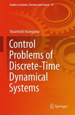 Abbildung von Hasegawa | Control Problems of Discrete-Time Dynamical Systems | 1. Auflage | 2015 | 19 | beck-shop.de