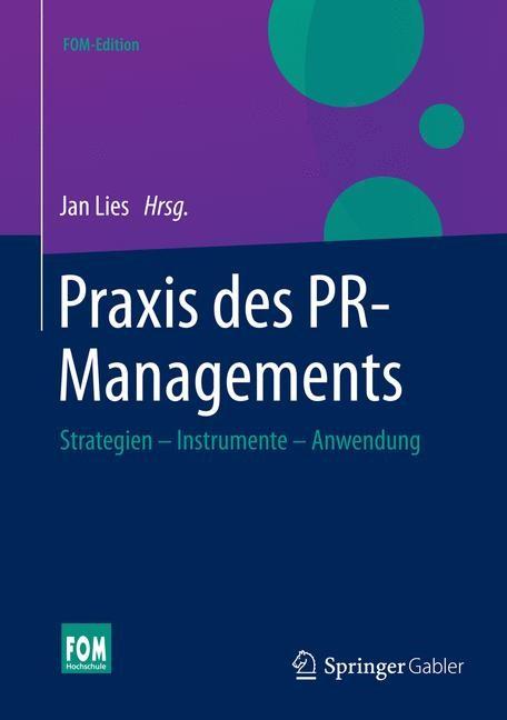 Praxis des PR-Managements | Lies | 2015, 2015 | Buch (Cover)