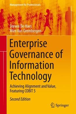 Abbildung von De Haes / Van Grembergen | Enterprise Governance of Information Technology | 2. Auflage | 2015 | beck-shop.de