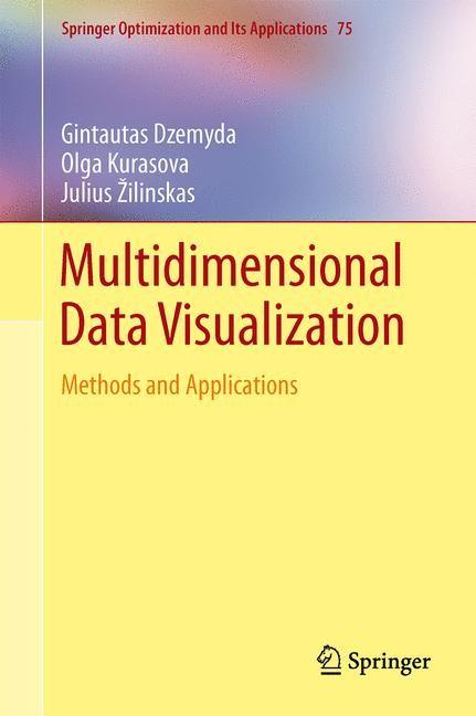 Multidimensional Data Visualization | Dzemyda / Kurasova / Žilinskas | 2013, 2014 | Buch (Cover)