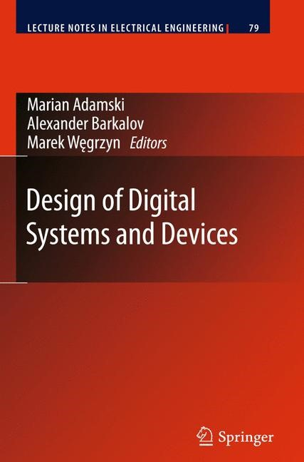 Design of Digital Systems and Devices | Adamski / Barkalov / Wegrzyn | 2011, 2014 | Buch (Cover)