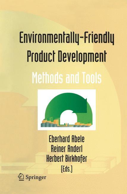 Abbildung von Abele / Anderl / Birkhofer   Environmentally-Friendly Product Development   2005   2014
