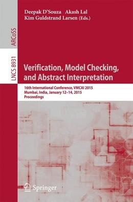 Abbildung von D'Souza / Lal | Verification, Model Checking, and Abstract Interpretation | 1. Auflage | 2015 | beck-shop.de