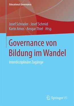 Abbildung von Schrader / Schmid | Governance von Bildung im Wandel | 1. Auflage | 2015 | 28 | beck-shop.de