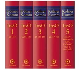 Abbildung von Hess (Hrsg.) | Kölner Kommentar zur Insolvenzordnung, Band 1: Vor § 1, §§ 1-55 InsO | 1. Auflage | 2016 | beck-shop.de