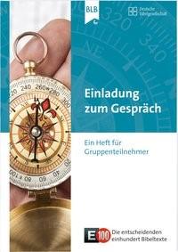 E100 Einladung zum Gespräch, 2015 | Buch (Cover)