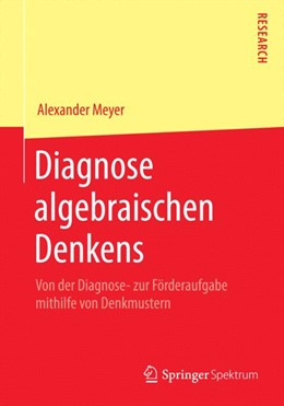 Abbildung von Meyer | Diagnose algebraischen Denkens | 2015 | 2014 | Von der Diagnose- zur Förderau...