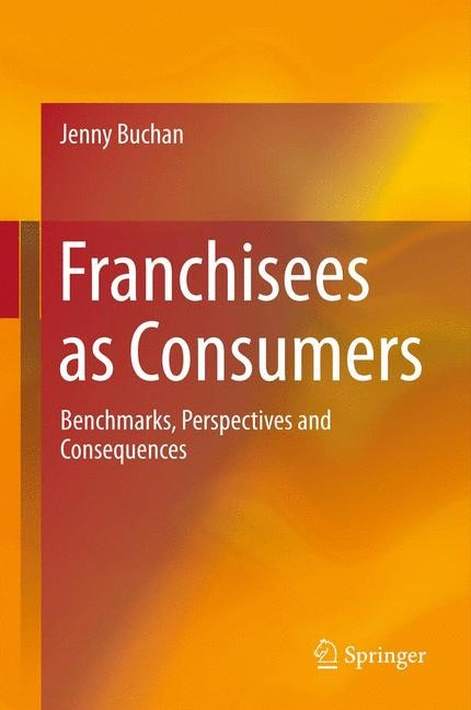 Franchisees as Consumers | Buchan | 2013, 2014 | Buch (Cover)